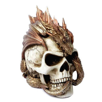 Decorațiune ALCHEMY GOTHIC - Dragon Keeper's Skull, ALCHEMY GOTHIC