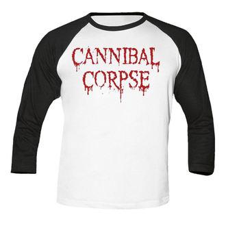 tricou stil metal bărbați Cannibal Corpse - Dripping logo BASEBALL - NUCLEAR BLAST, NUCLEAR BLAST, Cannibal Corpse