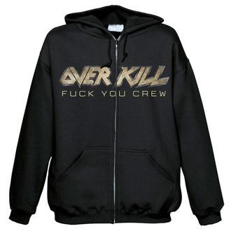 hanorac cu glugă bărbați Overkill - Fuck you crew - NUCLEAR BLAST, NUCLEAR BLAST, Overkill