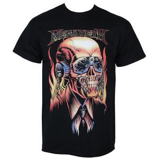 tricou stil metal bărbați Megadeth - FLAMING VIC - PLASTIC HEAD, PLASTIC HEAD, Megadeth