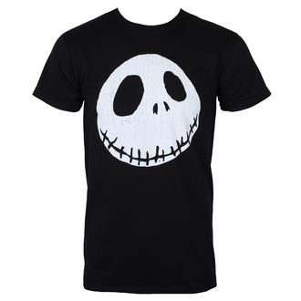 tricou cu tematică de film bărbați Nightmare Before Christmas - CRACKED FACE - PLASTIC HEAD, PLASTIC HEAD