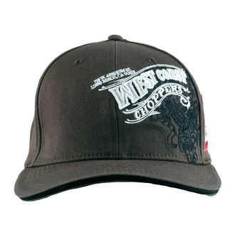 Șapcă West Coast Choppers - WINGS - Anthracite, West Coast Choppers