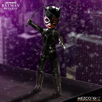 Figurină BATMAN - Living Dead Dolls - Catwoman, LIVING DEAD DOLLS