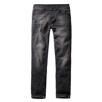 Pantaloni bărbătești BRANDIT - Rover - Black denim - slim fit, BRANDIT
