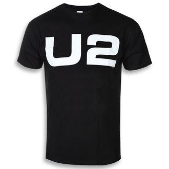 tricou stil metal bărbați U2 - WHITE LOGO - PLASTIC HEAD, PLASTIC HEAD, U2