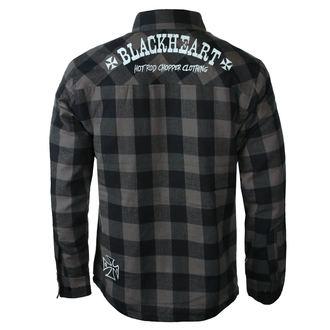 Cămașă bărbătească BLACK HEART - DUKE LINED, BLACK HEART