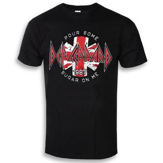 tricou stil metal bărbați Def Leppard - Pour Some Sugar On Me - HYBRIS, HYBRIS, Def Leppard