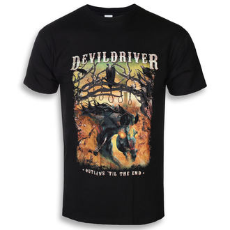 tricou stil metal bărbați Devildriver - Outlaws Til The End - NAPALM RECORDS, NAPALM RECORDS, Devildriver