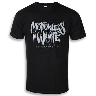 tricou stil metal bărbați Motionless in White - Graveyard Logo - ROCK OFF, ROCK OFF, Motionless in White