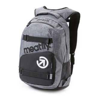 Rucsac MEATFLY - Exile - A Heather Gray / Black, MEATFLY