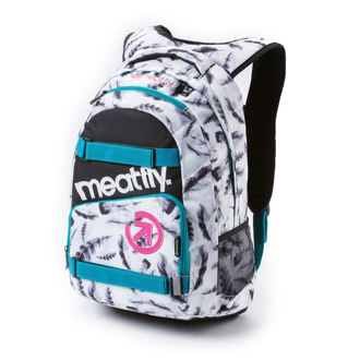 Rucsac MEATFLY - Exile - H Feather White, MEATFLY
