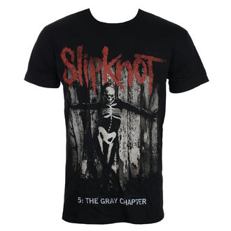 tricou stil metal bărbați Slipknot - Grey Chapter - ROCK OFF, ROCK OFF, Slipknot
