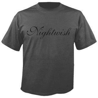 tricou stil metal bărbați Nightwish - Logo GREY - NUCLEAR BLAST, NUCLEAR BLAST, Nightwish