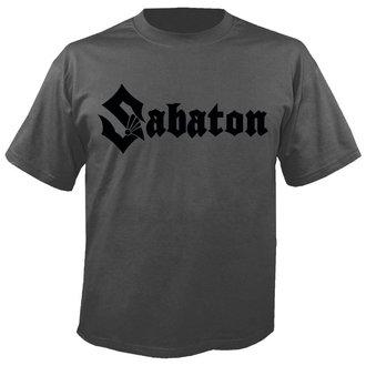 tricou stil metal bărbați Sabaton - Logo GREY - NUCLEAR BLAST, NUCLEAR BLAST, Sabaton