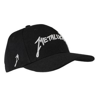 Șapcă Metallica -Garage - Silver Logo Black, Metallica