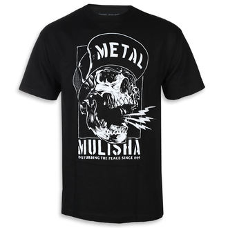 tricou de stradă bărbați - NO PEACE BLK - METAL MULISHA, METAL MULISHA