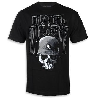 tricou de stradă bărbați - FORTITUDE BLK - METAL MULISHA, METAL MULISHA