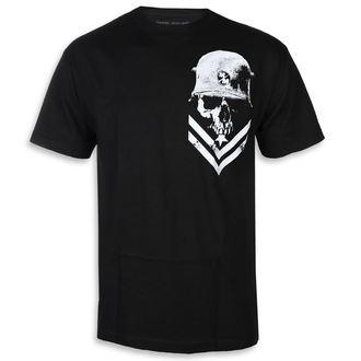 tricou de stradă bărbați - TROOPER BLK - METAL MULISHA, METAL MULISHA