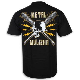 tricou de stradă bărbați - BLUNT FORCE BLK - METAL MULISHA, METAL MULISHA