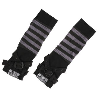 Mănuși pentru antebrațe POIZEN INDUSTRIES - STRIPE STRAP - BLACK / GREY, POIZEN INDUSTRIES