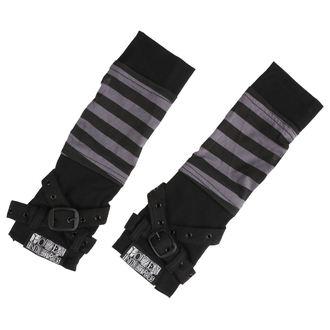 Mănuși pentru antebrațe POIZEN INDUSTRIES - STRIPE STRAP - BLACK / GREY, POIZEN INDUSTRIES
