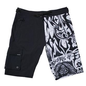 Pantaloni scurți bărbătești (pantaloni scurți înot) METAL MULISHA - FLYER- BLK, METAL MULISHA