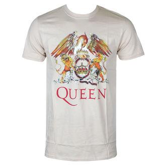 Tricou bărbătesc Queen - Classic Crest - ROCK OFF, ROCK OFF, Queen