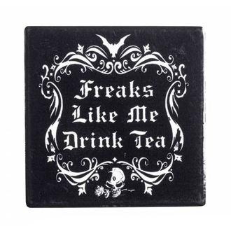 Stativ pahar ALCHEMY GOTHIC - Freaks Like Me Drink Tea, ALCHEMY GOTHIC