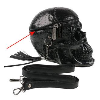 Poșetă (geantă de mână) KILLSTAR - Grave Digger Skull - Black - DETERIORATĂ, KILLSTAR