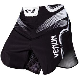 Pantaloni scurți bărbătești de box (fightshorts) VENUM - Tempest 2.0 - Black / White, VENUM