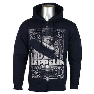 hanorac cu glugă bărbați Led Zeppelin - Navy - NNM, NNM, Led Zeppelin