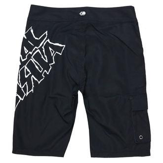 Pantaloni bărbătești scurți (pantaloni scurți de înot ) METAL MULISHA - IKON - BLK, METAL MULISHA