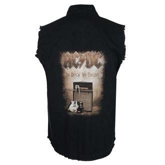 Tricou bărbătesc fără mâneci (vestă) AC / DC - IN ROCK WE TRUST - RAZAMATAZ, RAZAMATAZ, AC-DC