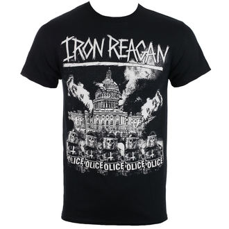 tricou stil metal bărbați Iron Reagan - Capital Police - Just Say Rock, Just Say Rock, Iron Reagan