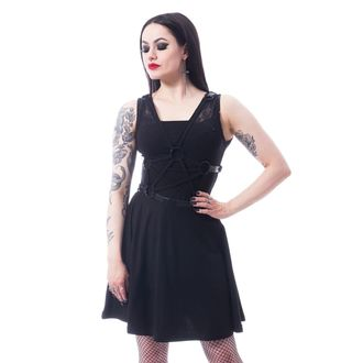 Rochie damă INDUSTRIES - BLACK, POIZEN INDUSTRIES