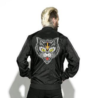 sacou primăvară/ toamnă unisex - Hell Cat - BLACK CRAFT, BLACK CRAFT