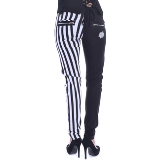 Pantaloni damă Chemical black - IDA - WHITE/BLACK, CHEMICAL BLACK