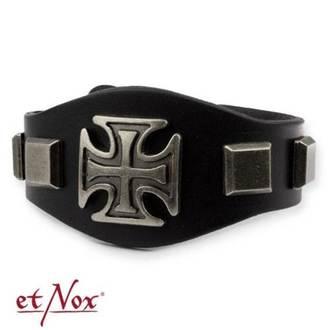 Brăţară ETNOX - Iron Cross and Studs, ETNOX