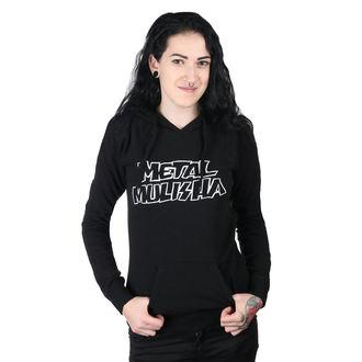 hanorac cu glugă femei - SQUAD PO BLK - METAL MULISHA, METAL MULISHA