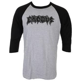 Tricou bărbați cu mâneci lungi 3/4 EXODUS - METAL COMMAND - GREY / BLK - JSR, Just Say Rock, Exodus