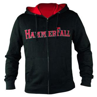 hanorac cu glugă femei Hammerfall - Hammered DELUXE Girlie ZIP HOOD - NUCLEAR BLAST, NUCLEAR BLAST, Hammerfall