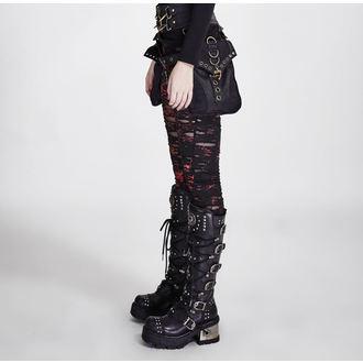 Pantaloni damă (colanți) PUNK RAVE - Ripped, PUNK RAVE