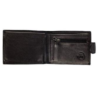 Portofel MEATFLY - Rikker - 1/26/55, A - Black Leather, MEATFLY