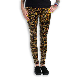 pantaloni femei (colanți) Burlesc - Leopard, NNM