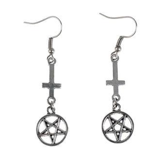 Cercei Luciferothica - Inverted cross Pentagram, LUCIFEROTHICA