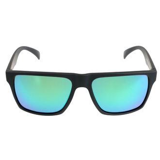 Ochelari de soare MEATFLY - TRIGGER D 4/17/55 - BLACK GREEN , MEATFLY