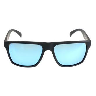 Ochelari de soare MEATFLY - TRIGGER A 4/17/55 -  BLACK / BLUE, MEATFLY