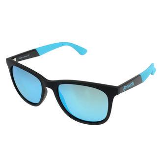 Ochelari de soare MEATFLY - AMBREIAJ B 4/17/55 - BLACK / BLUE, MEATFLY
