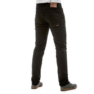 Pantaloni bărbătești (blugi) MEATFLY - Riot 2 - 1/7/55, A - Black, MEATFLY