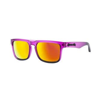 Ochelari de soare MEATFLY - MEMPHIS - F- 4/17/55 - Purple Matt, MEATFLY